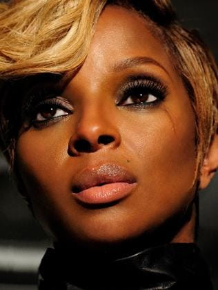 Don't bother Mary J Blige in her trailer.