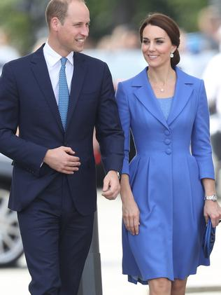 According to a body language expert, the Duke and Duchess of Cambridge don't feel the need to show affection in public by holding hands. Picture: Sean Gallup/Getty Images.