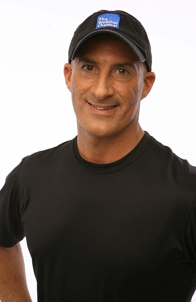 """Rock star of meteorologists"" ... The Weather Channel's Jim Cantore. ..."