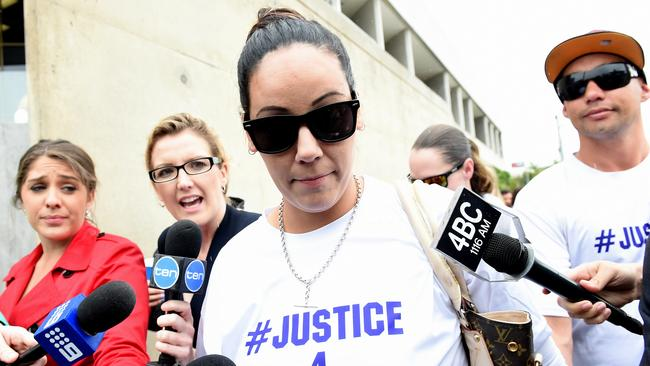 Tiahleigh Palmer's biological mother Cindy Palmer will speak publicly for the first time since charges were laid over the schoolgirl's murder.
