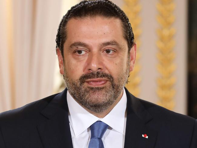 Lebanese Prime Minister Saad Hariri has announced his surprise resignation. Picture: AFPN