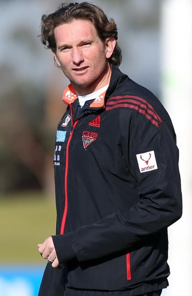 James Hird will concentrate on preparing for next season.