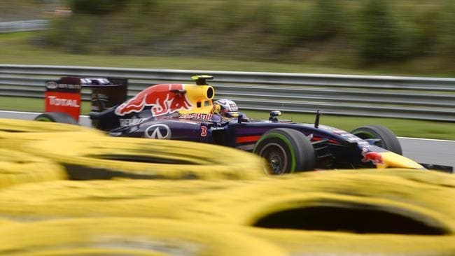 Ricciardo had a few scares on his way to fifth place.