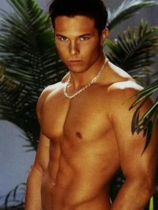 Former Power Rangers actor Ricardo Medina Jr at the start of his career. Picture: Supplied