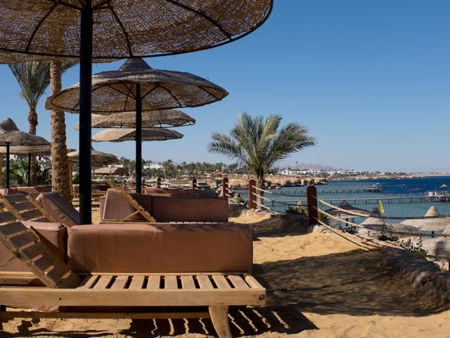 The UK government has resisted calls to drop its ban on British flights to the Egyptian tourist town of Sharm el-Sheikh. Picture: Chris McGrath/Getty Images