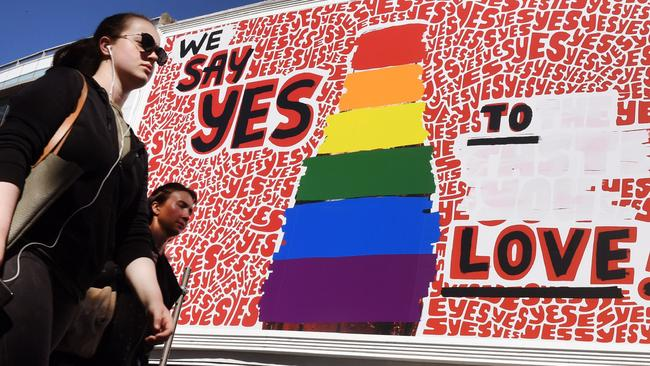 Live coverage of same-sex marriage survey