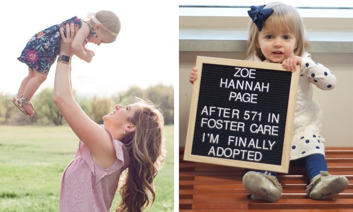 It just felt right when Hannah arrived. Source: Ashley Creative Company Co.