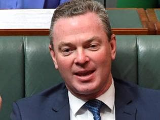 Minister for Defence Industry and Leader of the House Christopher Pyne during House of Representatives Question Time at Parliament House in Canberra, Monday, June 19, 2017. (AAP Image/Mick Tsikas) NO ARCHIVING