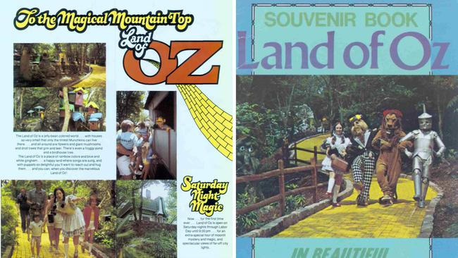 As it once was ... old Land of Oz brochures. Picture: Supplied