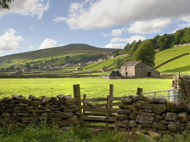 A rise in a Yorkshire Dales was recently reclassified as a mountain. Picture: Supplied