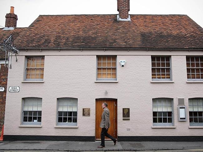 Heston Blumenthal's Fat Duck restaurant in Berkshire, UK.