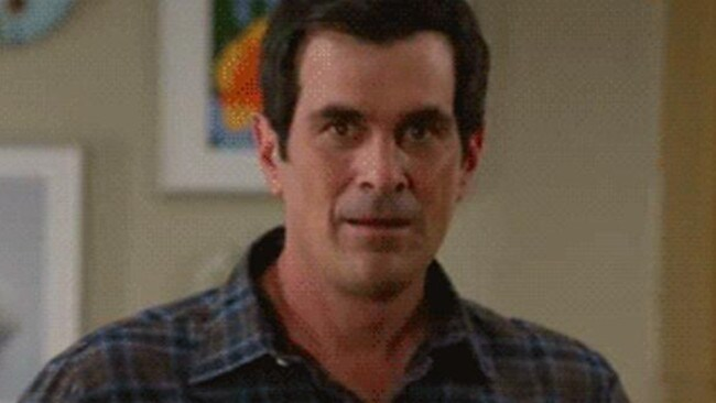 Modern Family's Phil Dunphy: king of cringe.