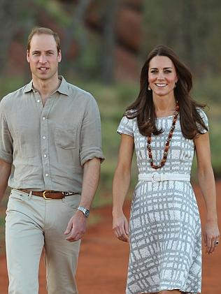 William and Kate didn't take George to Uluru. Picture: Scott Barbour/Getty