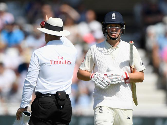 England batsman Gary Ballance failed twice in the Test.