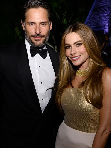 Manganiello attends a event in Washington with Sofia Vergara. Picture: Getty