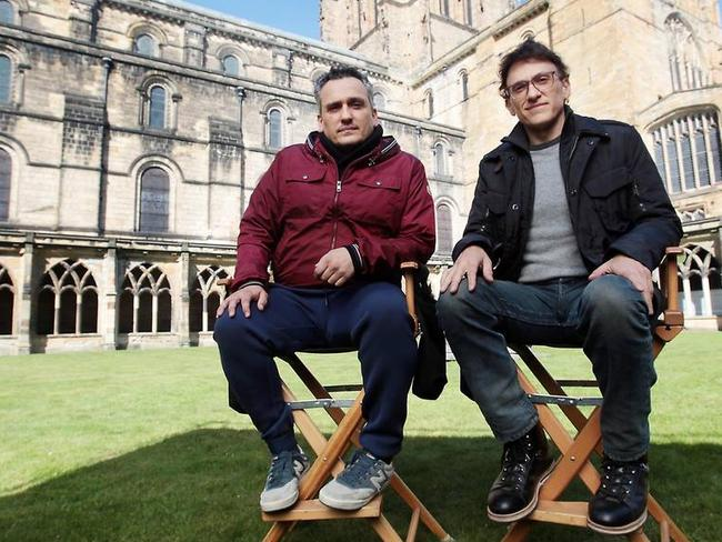 Brothers Joe and Anthony Russo co-directed the new Avengers movie. Picture: Mirrorpix/Everett Collection