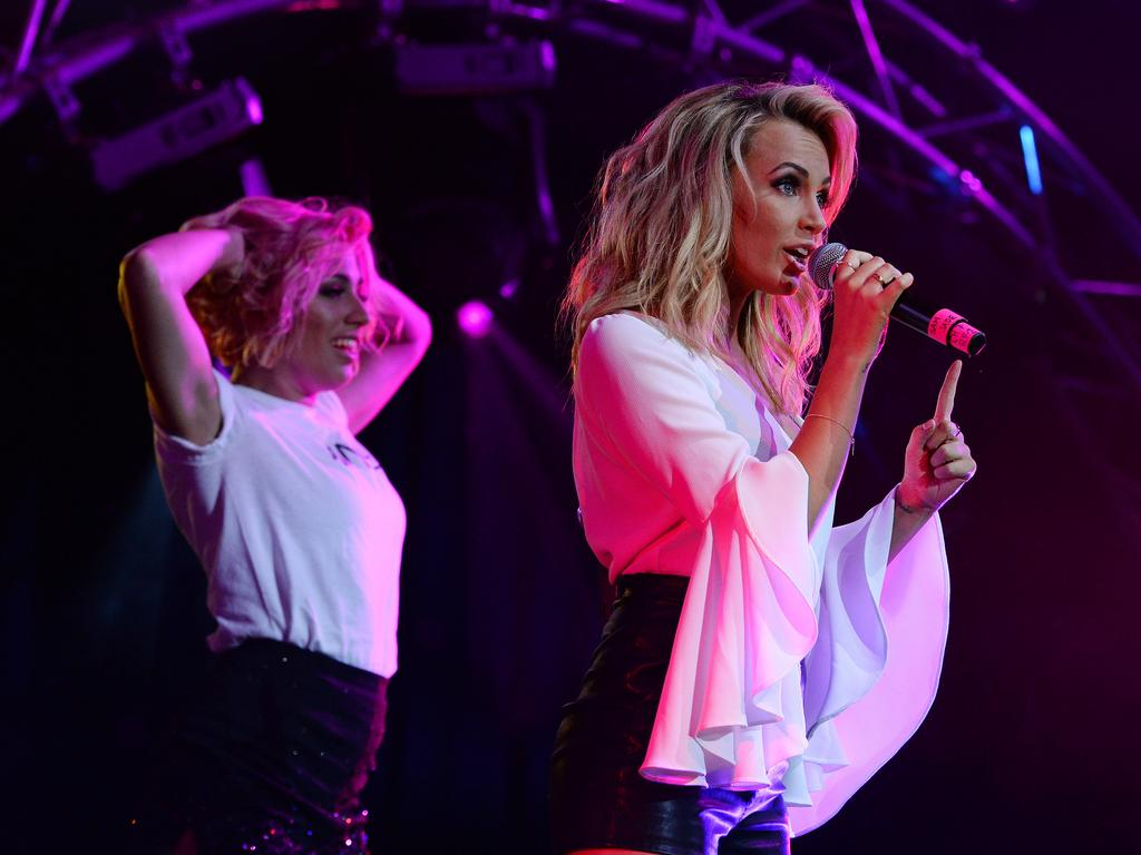 WA Stands Together - Bushfire Appeal at the Harvey Amphitheatre. Samantha Jade performs. Picture: Daniel Wilkins