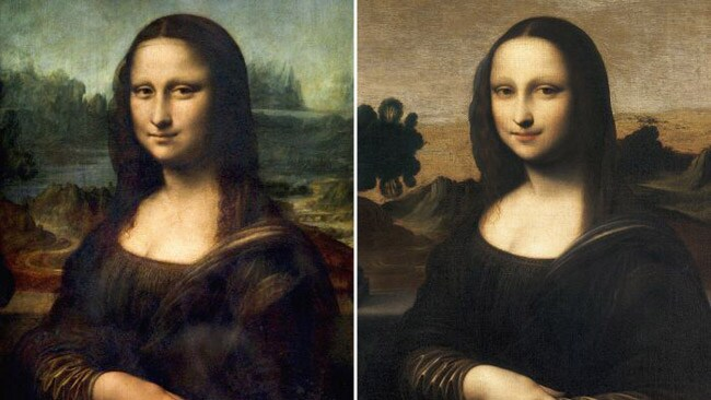 The Mona Lisa Foundation revealed a painting of The Mona Lisa suspected to have been painted some years before the painting we know and love