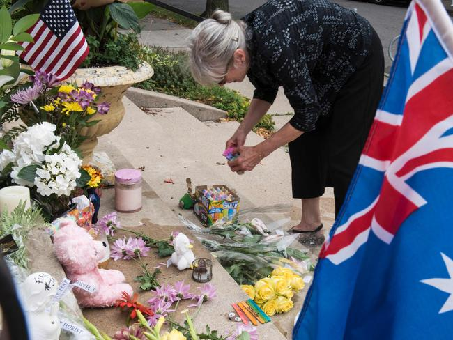 There were vigils and protests after Ms Damond's shooting.