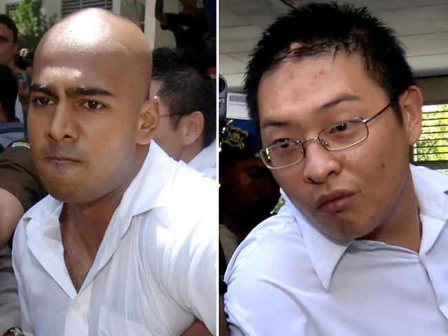 Unjust ... Brand has spoken out against the Indonesian government's decision to execute Bali Nine drug pair, Andrew Chan and Myuran Sukumaran. Picture: AFP Photo / Jewel Samad