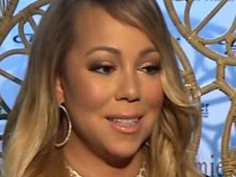 Mariah Carey awkward interview Picture: SUpplied