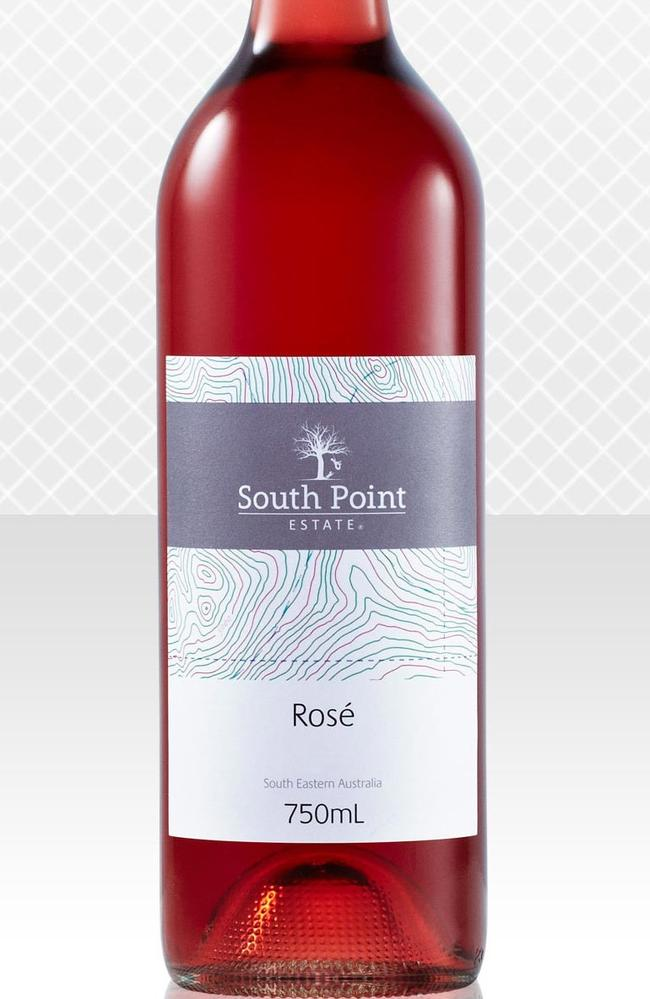 The Aldi 2015 South Point Rose.