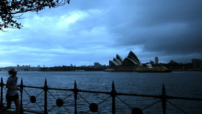 Expect to see darker skies across Sydney for the next few days.