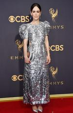 Sarah Paulson attends the 69th Annual Primetime Emmy Awards at Microsoft Theater on September 17, 2017 in Los Angeles. Picture: Getty