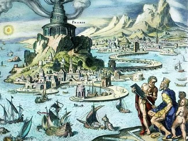 The Bay of Alexandria as it may have looked. Picture: Wikicommons