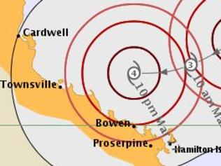 Latest cyclone mapping from the BoM.