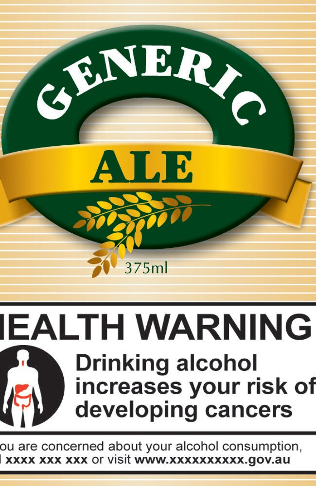 The Foundation for Alcohol Research and Education is backing the push for cancer warnings on alcohol