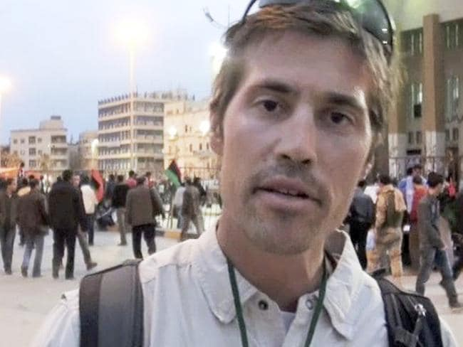 Slain ... James Foley, a freelance contributor for GlobalPost, in Benghazi, Libya.