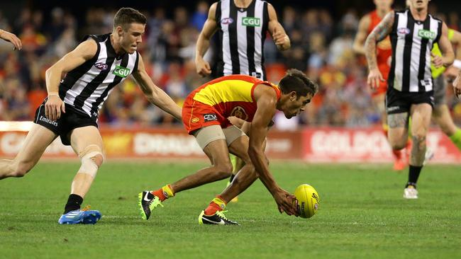 Jack Martin has shown glimpses of his electric best on the AFL stage. Picture: Adam Head
