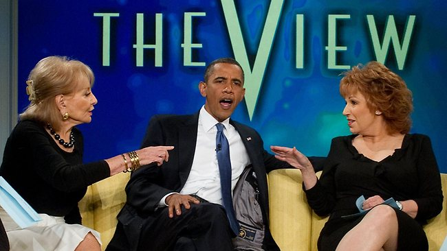 Obama The-VIEW