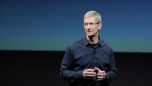 How will this fizzer announcement affect Apple's new CEO Tim Cook? Picture: Getty Images / AFP