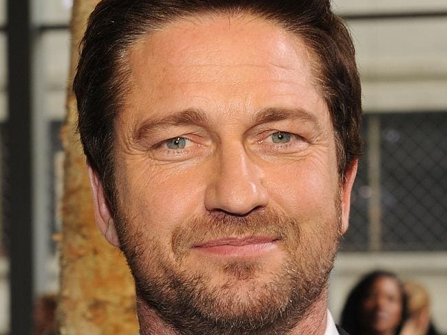 No time for sightseeing ... Gerard Butler is keen to get to work on new film Gods of Egypt, filming in Sydney. Picture: Craig Barritt