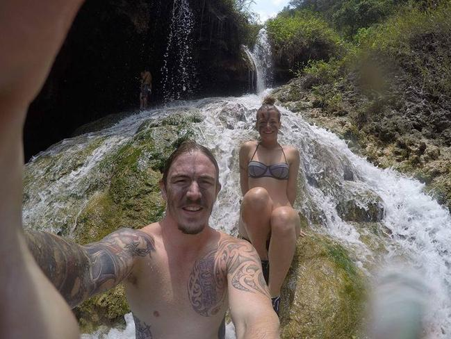 Jayson Peter Kelly, 25, and Kirsten Smith, 25, from QLD had just started a trip of a lifetime when they found themselves caught up in a Guatemalan hell. Photo: Jayson Peter Kelly