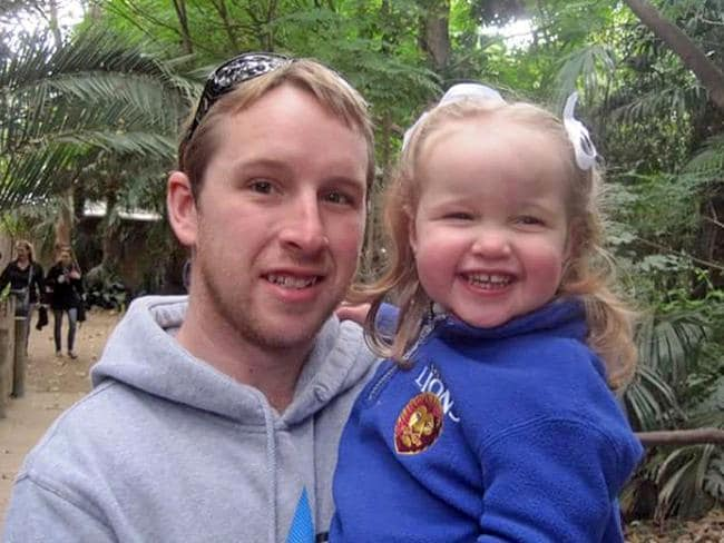 Hero dad Shaun Oliver, 32. Picture: Facebook