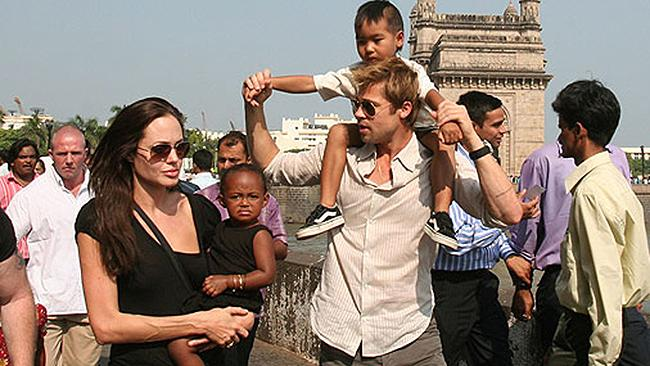 Angelina Jolie Brad Pitt India
