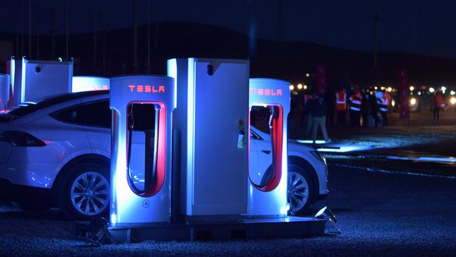 Tesla Installs Sa Country Recharging Stations For Electric