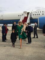 "Ivanka Trump shares an Instagram image on January 19, 2017, ""Arriving in Washington DC with my family. A very special moment! #MAGA #Inauguration2017"" Picture: @ivankatrump/Instagram"