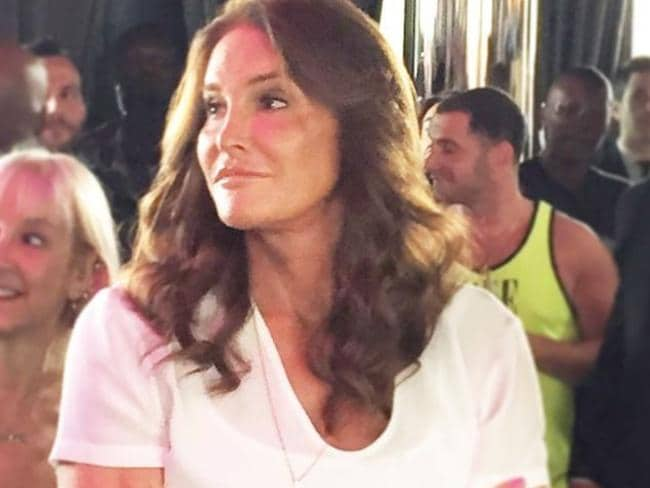 Hero's welcome ... Cailtyn Jenner was a hit with the crowds.