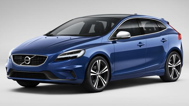 V40: Starts from just under $36K; T5, above, is $49,888 drive-away