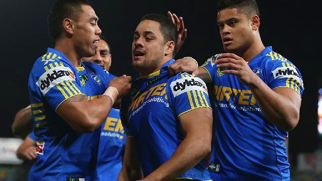 Parramatta captain Jarryd Hayne is moving into top form ahead of State of Origin I.
