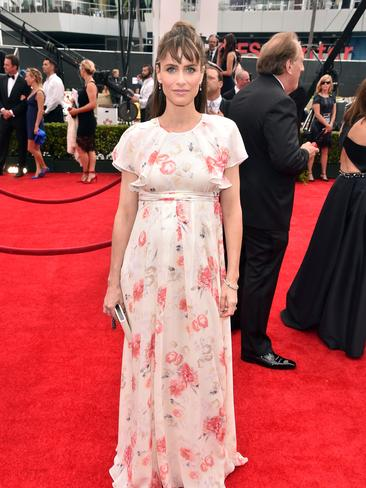 Actress Amanda Peet attends the 66th Annual Primetime Emmy Awards. Picture: Getty
