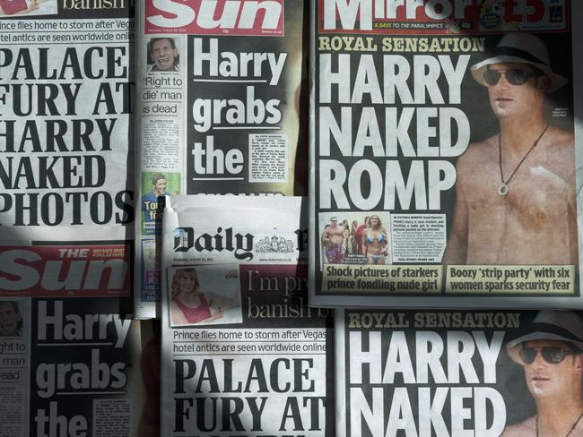 Prince Harry's wild years were well-documented. Picture: AFP