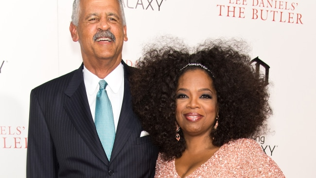 Stedman and Oprah have been lovers since 1986. Photo by Gilbert Carrasquillo/FilmMagic