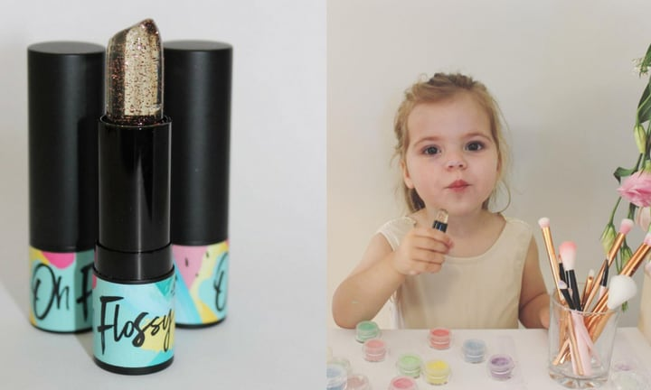 An Aussie mum made the cutest play makeup and we kinda want to wear it too