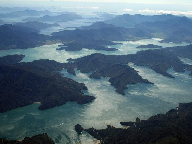 Furneaux Lodge is in the Marlborough Sounds with no road access