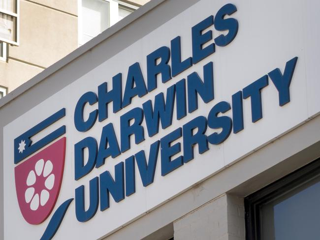 Charles Darwin University has a completion rate of only 41.8 per cent.